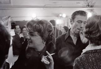Simone Signoret et Yves Montand (1962)