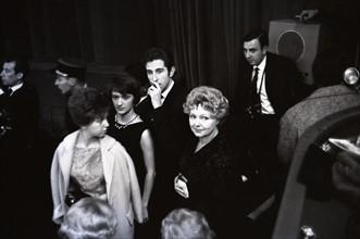 Françoise Sagan et Jacques Chazot (1962)