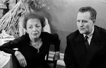 Edith Piaf et Lucien Vaimber