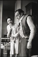 Arletty et Louis-Ferdinand Céline
