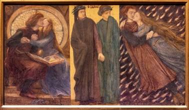 "Rossetti, ""Paolo and Francesca da Rimini"""