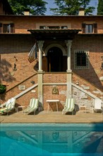 The Villa Pambuffetti Hotel in Montefalco, Italie