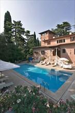 The Villa Pambuffetti Hote in Montefalco