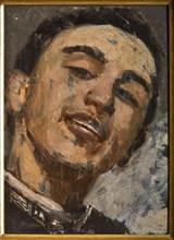 "Augusto Valli, ""Self Portrait"""