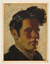 """Vittorio Magelli  (1911-1988);  """"Self Portrait"""""""