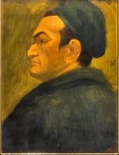 """Museo Novecento: """"Self Portrait"""", by Corrado Cagli"""