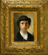 """Giovanni Muzzioli (1854-1894): """"Self-portrait"""""""