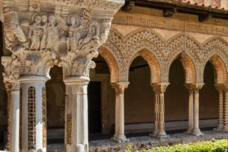 Monreale, Duomo: view of the cloister