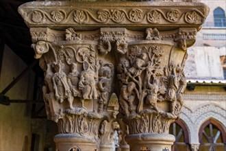 Monreale, Duomo, the cloister of the Benedectine monastery