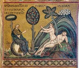 "Monreale, Duomo: ""Creation of Eve"""