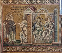 Monreale, Duomo: The punishment of Sodom