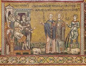 "Monreale, Duomo: ""The martyrdom of St. Cassius and St Casto"""