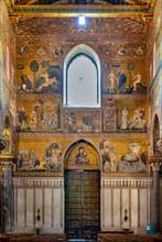 Monreale, Duomo: view of the counterfaçade