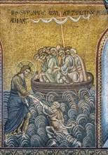 "Monreale, Duomo: ""Jesus rescueing St"