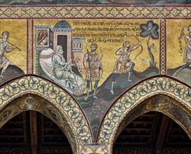 "Monreale, Duomo: ""Isaac and Esau"""