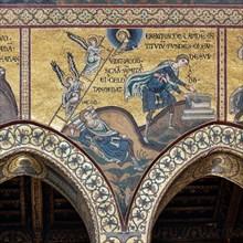 """Monreale, Duomo: """"Jacob's dream"""""""