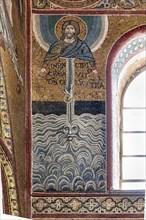 "Monreale, Duomo: ""Creation of heaven and earth"""