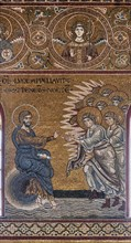 """Monreale, Duomo: """"Creation of  the Day and the night"""""""