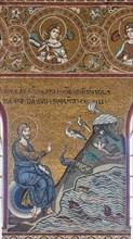 "Monreale, Duomo: ""Creation of fish and birds"""