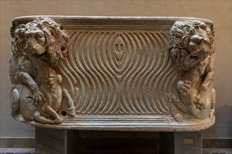 Monreale Cathedral, Diocesan Museum: Roman sarcophagus