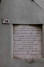Casa Mozart, Rovereto