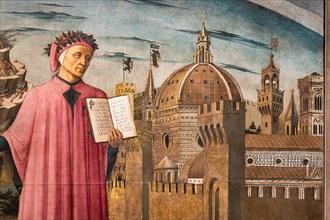 """La Divina Commedia illumina Firenze"""