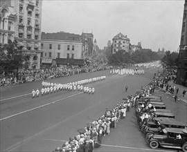 Ku Klux Klan Parade, Washington DC, USA, National Photo Company, August 1925