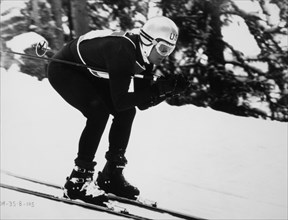 Robert Redford, On-Set of the Film, Downhill Racer, 1969