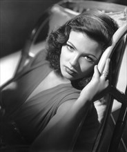Gene Tierney on-set of the Film, Laura, 1944