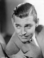 Clark Gable, American Film Actor, Close-Up Portrait, circa 1930's