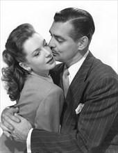 """Deborah Kerr, Clark Gable, Publicity Portrait for the Film, """"The Hucksters"""", 1947"""