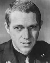 """Steve McQueen, Portrait for the Film """"The War Lover"""", 1962"""