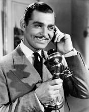 """Clark Gable, on-set of the Film """"Wife Vs. Secretary"""", 1936"""