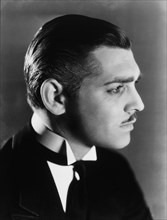 """Clark Gable, Portrait, on-set of the Film """"Strange Interlude"""", 1932"""