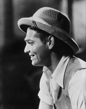 "Clark Gable, Portrait, on-set of the Film ""Red Dust"", 1932"