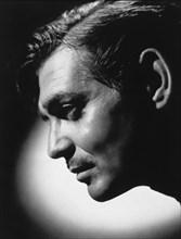 Actor Clark Gable, Close-Up Profile, 1945