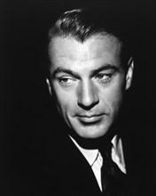 Actor Gary Cooper, Portrait, 1941