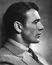 Actor Gary Cooper, Profile, 1931