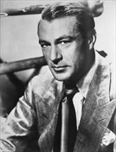 Actor Gary Cooper, Publicity Portrait, circa 1940's