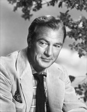 Actor Gary Cooper, Publicity Portrait, circa 1950