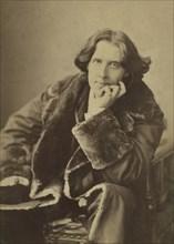 Oscar Wilde (1854-1900), Irish Writer and Poet, Portrait, 1882