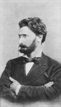 Joseph Pulitzer at 40, Head and shoulders Portrait