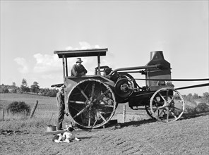 farmers, agriculture, tractor, occupations, historical,