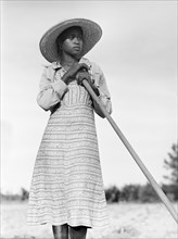 woman, farmer, occupations, African-American ethnicity, historical,