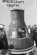 space, capsule, NASA, John Glenn, historical,