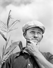 man, occupations, farmer, agriculture, historical,