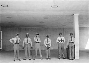 men, occupations, airport, transportation, historical,
