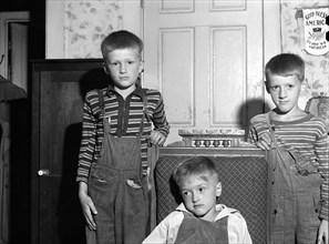 boys, children, family, leisure, historical,