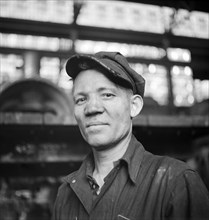 man, occupations, welder, railroad, historical,