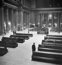 transportation, travel, Union Station, Chicago, historical,